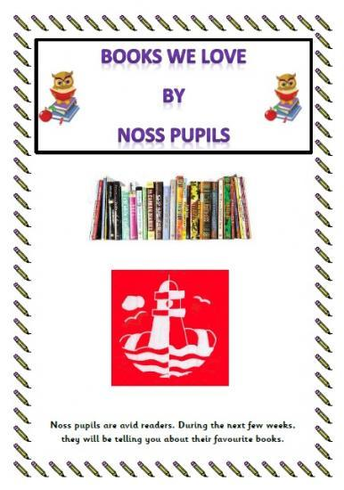 Photograph of Noss Primary Children Tell About The Books They Are Reading