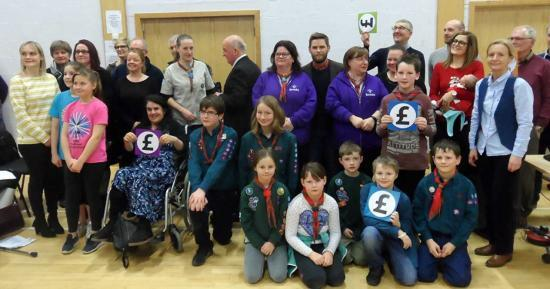 Photograph of Your Cash Your Caithness - Everyone Wins - Big Surprise For Everyone