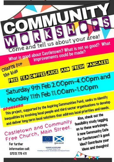 Photograph of Community Workshop in Castletown