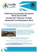 Thumbnail for article : Caithness Countryside Volunteers AGM and Work Day