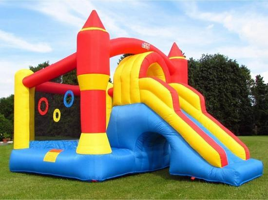 Photograph of Highland Council highlights Health and Safety Risks from Inflatable Play Equipment