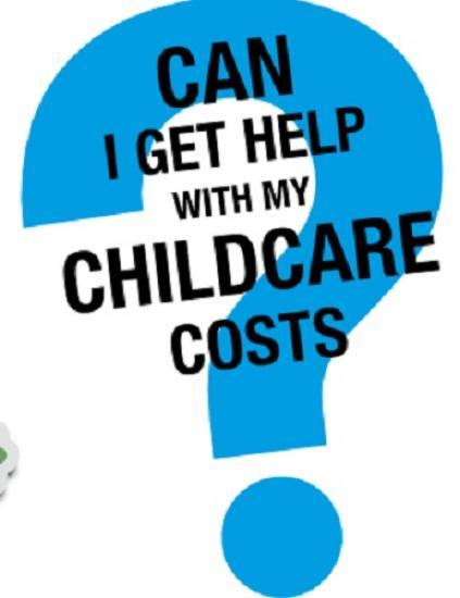 Photograph of Government help with childcare costs