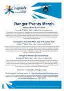 Thumbnail for article : Ranger Events In March