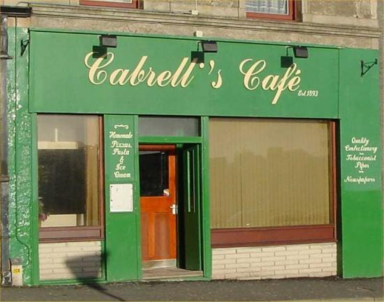 Photograph of History of Cabrelli's Cafe at the Camps in Wick by Lyndall Leet