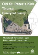 Thumbnail for article : Old St Peters Kirk - Graveyard Survey