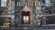 Thumbnail for article : Wick Baptist Church Opening Times