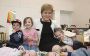 Thumbnail for article : First Minister meets families at V&A Dundee
