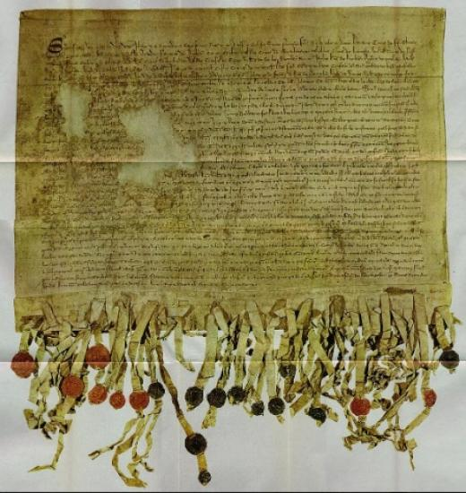 Photograph of Declaration of Arbroath to go on public display for the first time in 15 years