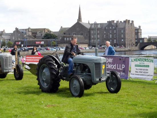 Photograph of Caithness County Show 2019 - Vintage Tractors Parade