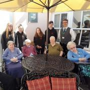 Thumbnail for article : High School pupils furnish garden comfort for Bayview Care Home