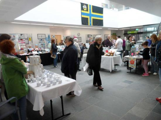 Photograph of Wick Indoor Market Success on First Day