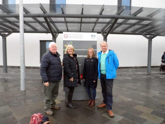Photograph of CHAT Team Visit To The New Balfour Hospital in Orkney
