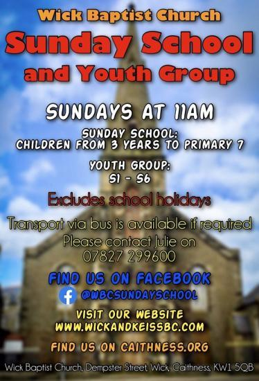 Photograph of Sunday School and Youth Group In Wick
