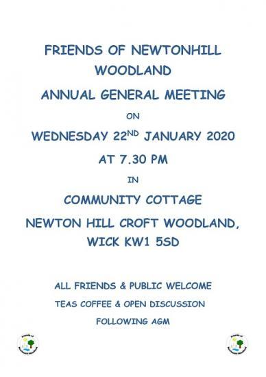 Photograph of Newtonhill Communtiy Croft Woodland AGM