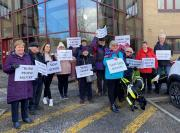 Thumbnail for article : Sight Action campaigner Rhoda Grant 'delighted' NHS Highland has backtracked over plans to discontinue