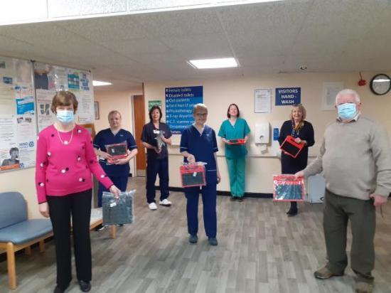 Photograph of CHAT and Friends Donate 30 Tablets For Staff and Patients To Keep In Contact